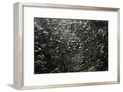 The Great Dish from the Mildenhall treasure, Roman Britain, 4th century. Artist: Unknown-Unknown-Framed Giclee Print