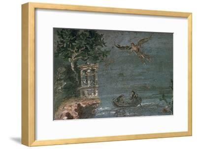 Roman wall-painting of Icarus. Artist: Unknown-Unknown-Framed Giclee Print