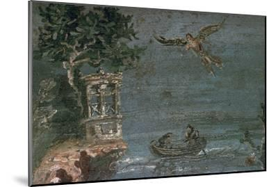 Roman wall-painting of Icarus. Artist: Unknown-Unknown-Mounted Giclee Print