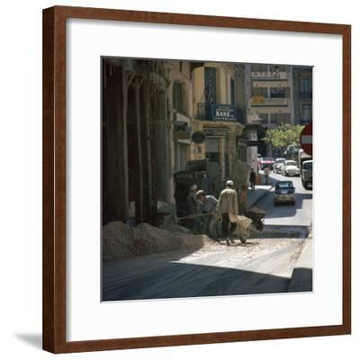 Scene of an Athenian street. Artist: Unknown-Unknown-Framed Photographic Print