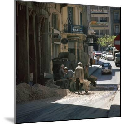 Scene of an Athenian street. Artist: Unknown-Unknown-Mounted Photographic Print