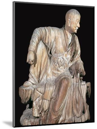 Statuette of a disciple of the Buddha, 14th century. Artist: Unknown-Unknown-Mounted Giclee Print