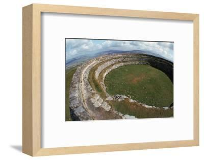 Grianan of Aileach Hillfort, 6th-7th century. Artist: Unknown-Unknown-Framed Photographic Print