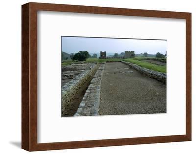 Vindolanda, a Roman military settlement, 3rd century. Artist: Unknown-Unknown-Framed Photographic Print
