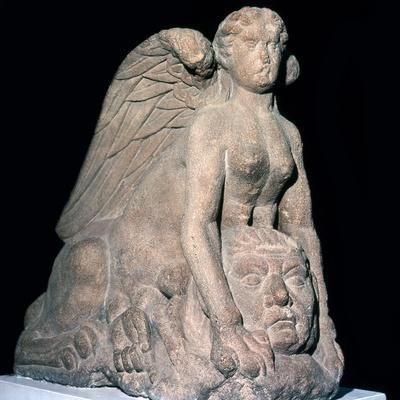 The Roman Colchester Sphinx, 1st century. Artist: Unknown-Unknown-Framed Giclee Print