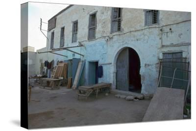 House where Paul Klee lived in Kairouan, Tunisia, 20th century. Artist: Unknown-Unknown-Stretched Canvas Print