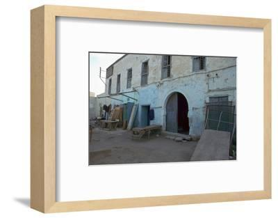 House where Paul Klee lived in Kairouan, Tunisia, 20th century. Artist: Unknown-Unknown-Framed Photographic Print
