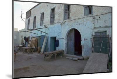 House where Paul Klee lived in Kairouan, Tunisia, 20th century. Artist: Unknown-Unknown-Mounted Photographic Print