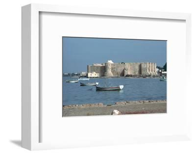View of the Spanish fort Borj el Kebir, 13th century. Artist: Unknown-Unknown-Framed Photographic Print