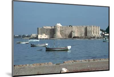 View of the Spanish fort Borj el Kebir, 13th century. Artist: Unknown-Unknown-Mounted Photographic Print