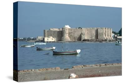 View of the Spanish fort Borj el Kebir, 13th century. Artist: Unknown-Unknown-Stretched Canvas Print