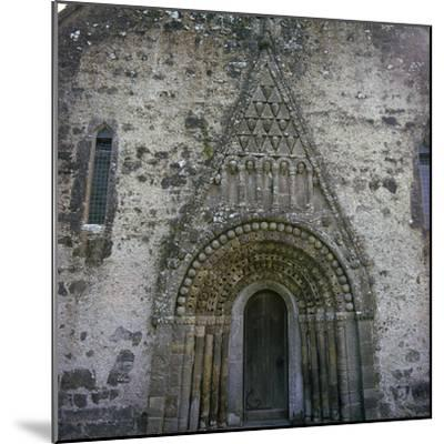 West doorway of Clonfert Cathedral, 12th century. Artist: Unknown-Unknown-Mounted Photographic Print