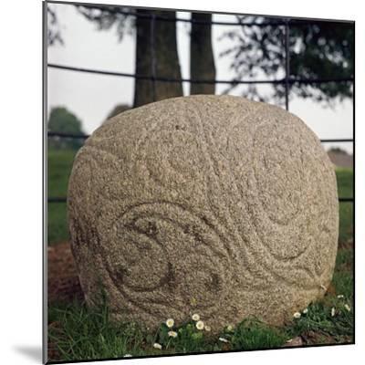 The Castlestrange Stone, 1st century. Artist: Unknown-Unknown-Mounted Giclee Print
