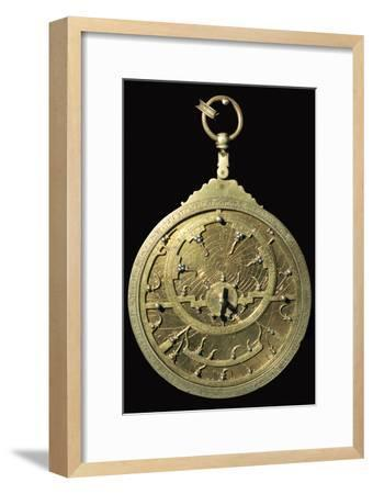 Arabic 18th century planispheric astrolabe, 18th century. Artist: Unknown-Unknown-Framed Giclee Print