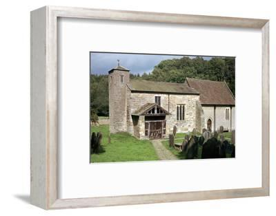 Kirkdale Church in North Yorkshire, 11th century. Artist: Unknown-Unknown-Framed Photographic Print