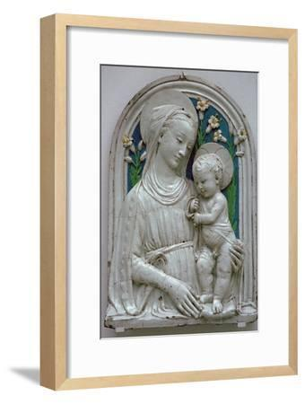 Depiction of the Virgin and Child. Artist: Unknown-Unknown-Framed Giclee Print
