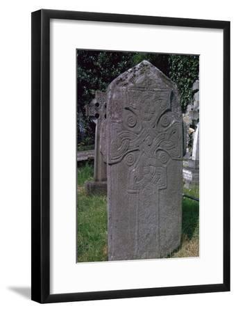 St Mura's cross' in Pahan, 7th century. Artist: Unknown-Unknown-Framed Giclee Print