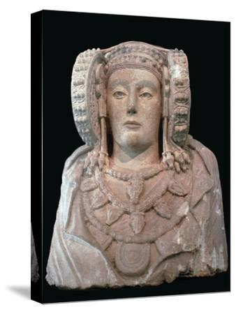 Lady of Elche, 4th century. Artist: Unknown-Unknown-Stretched Canvas Print