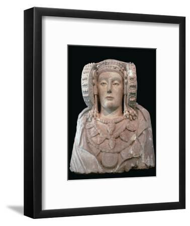 Lady of Elche, 4th century. Artist: Unknown-Unknown-Framed Giclee Print