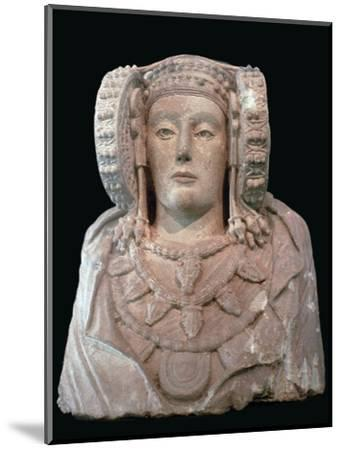 Lady of Elche, 4th century. Artist: Unknown-Unknown-Mounted Giclee Print