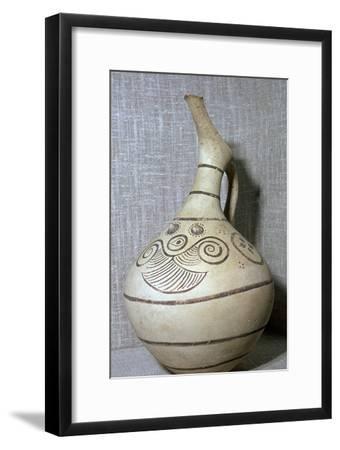 Cycladic beaked jug. Artist: Unknown-Unknown-Framed Giclee Print