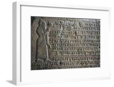Inscribed tablet of Kilamuwa, King of Sam'al. Artist: Unknown-Unknown-Framed Giclee Print