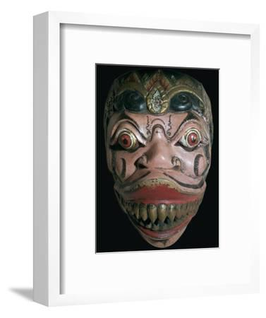 Mask from Java. Artist: Unknown-Unknown-Framed Giclee Print