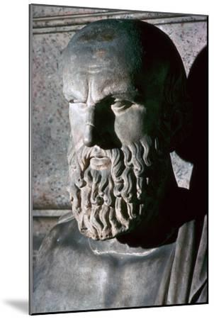 Roman portrait bust of the Greek dramatist Aeschylus, 6th century BC. Artist: Unknown-Unknown-Mounted Giclee Print