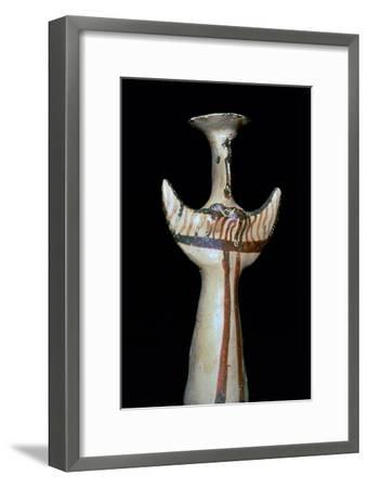 Mycenaean mother-goddess. Artist: Unknown-Unknown-Framed Giclee Print
