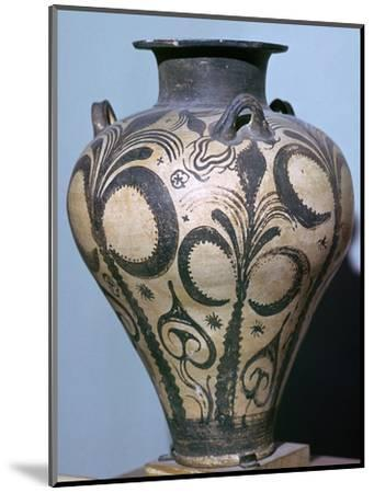 Mycenaean amphora with plant forms, 15th century. Artist: Unknown-Unknown-Mounted Giclee Print