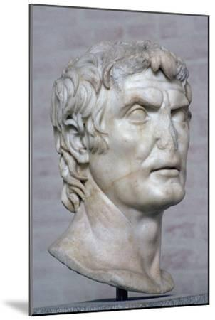 Bust of the Roman republican general Marius, 2nd century. Artist: Unknown-Unknown-Mounted Giclee Print