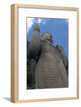 Awkana Buddha, a colossal statue. Artist: Unknown-Unknown-Framed Giclee Print