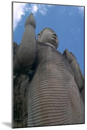 Awkana Buddha, a colossal statue. Artist: Unknown-Unknown-Mounted Giclee Print