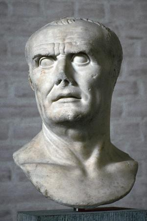 Bust of the Roman dictator Sulla, 1st century. Artist: Unknown-Unknown-Framed Giclee Print