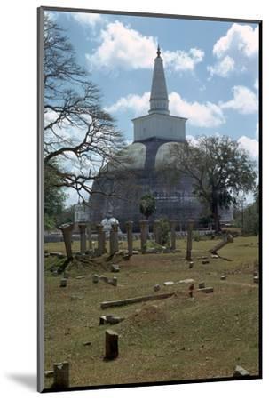 Ruvanvaliseya at Anuradhapura, 2nd century. Artist: Unknown-Unknown-Mounted Photographic Print