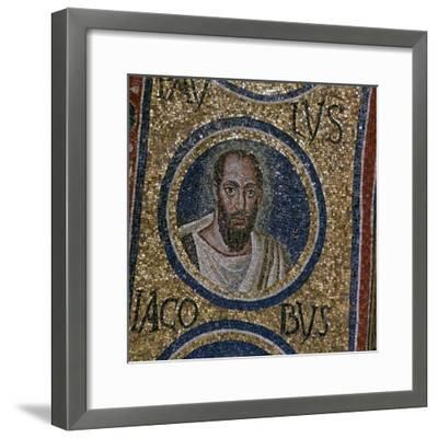 Mosaic detail showing St Paul, 5th century. Artist: Unknown-Unknown-Framed Giclee Print