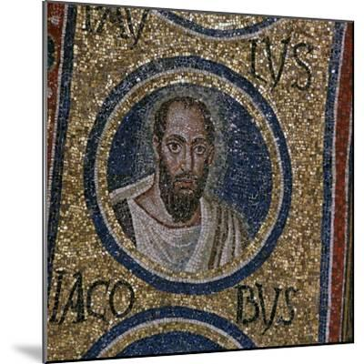 Mosaic detail showing St Paul, 5th century. Artist: Unknown-Unknown-Mounted Giclee Print
