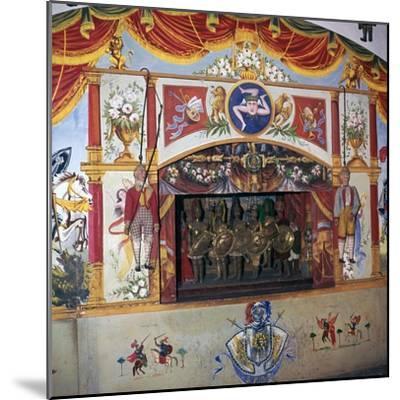 Sicilian marionette theatre. Artist: Unknown-Unknown-Mounted Giclee Print