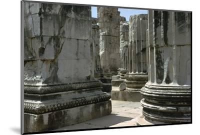 Greco-Roman temple of Apollo at Didyma, 2nd century. Artist: Unknown-Unknown-Mounted Photographic Print