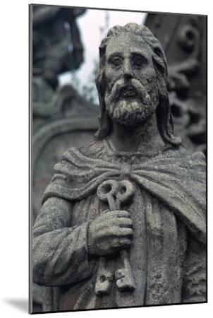 Statue of St Peter. Artist: Unknown-Unknown-Mounted Giclee Print
