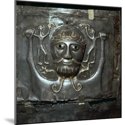 Detail from the Celtic Gundestrop Cauldron, 3rd century. Artist: Unknown-Unknown-Mounted Giclee Print