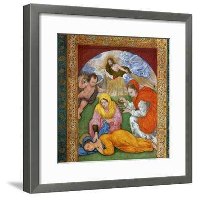Painting of the martyrdom of St Cecilia, 3rd century. Artist: Unknown-Unknown-Framed Giclee Print
