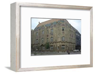 Cifra Palace in Kecskemet, 1902. Artist: Unknown-Unknown-Framed Photographic Print