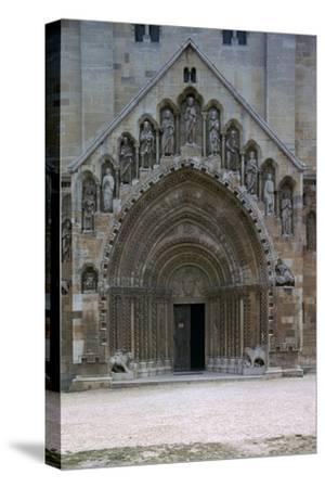 Jak Abbey in Hungary. Artist: Unknown-Unknown-Stretched Canvas Print