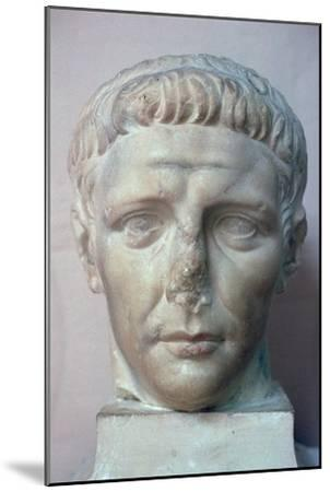 Head of the Roman emperor Claudius, 1st century. Artist: Unknown-Unknown-Mounted Giclee Print