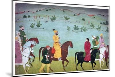 Painting of Mian Mukund Dev of Jasrota, 18th century. Artist: Unknown-Unknown-Mounted Giclee Print
