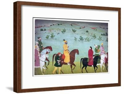 Painting of Mian Mukund Dev of Jasrota, 18th century. Artist: Unknown-Unknown-Framed Giclee Print