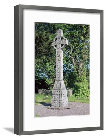 West face of the Celtic Moone high cross, 9th century. Artist: Unknown-Unknown-Framed Giclee Print