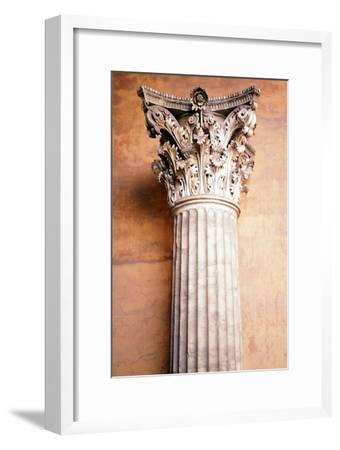 Corinthian Capital, c.2nd century. Artist: Unknown-Unknown-Framed Giclee Print