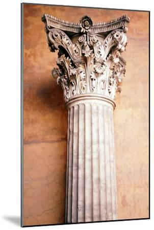 Corinthian Capital, c.2nd century. Artist: Unknown-Unknown-Mounted Giclee Print
